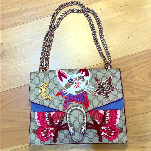 Gucci Handbags - Gucci Dionysus Cat Bag